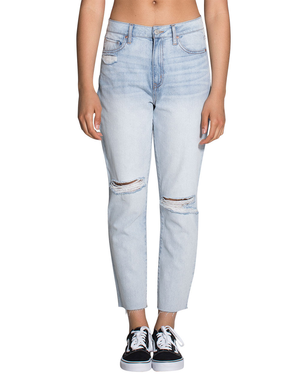 RSQ RIPPED MOM JEANS