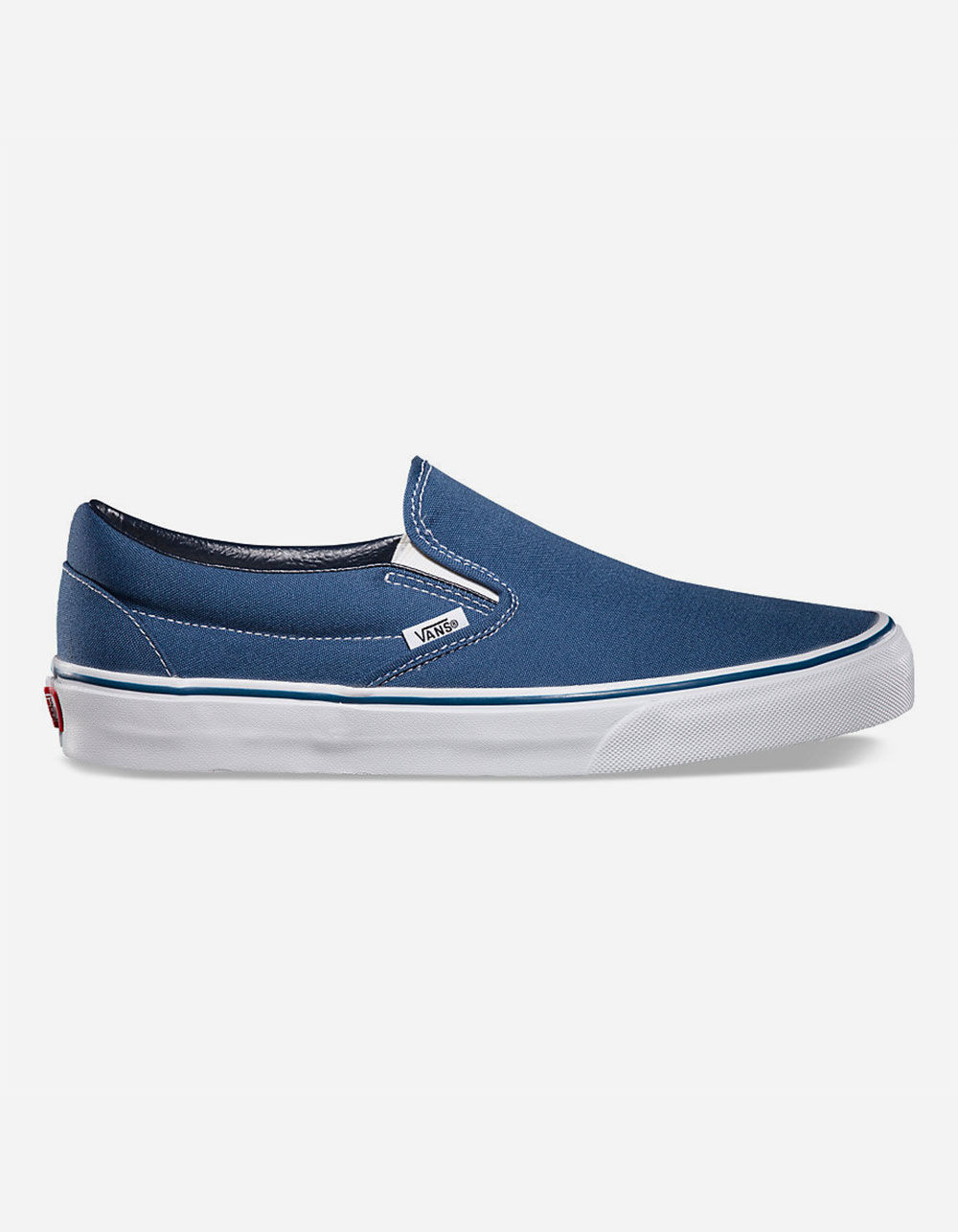 VANS CLASSIC SLIP-ON NAVY SHOES
