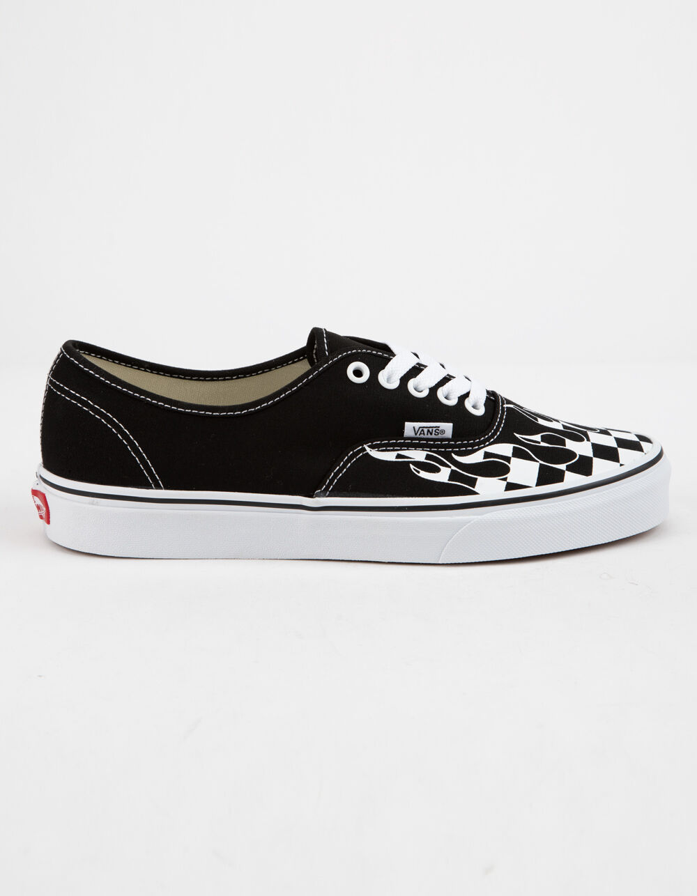 VANS Authentic Checker Flame Shoes