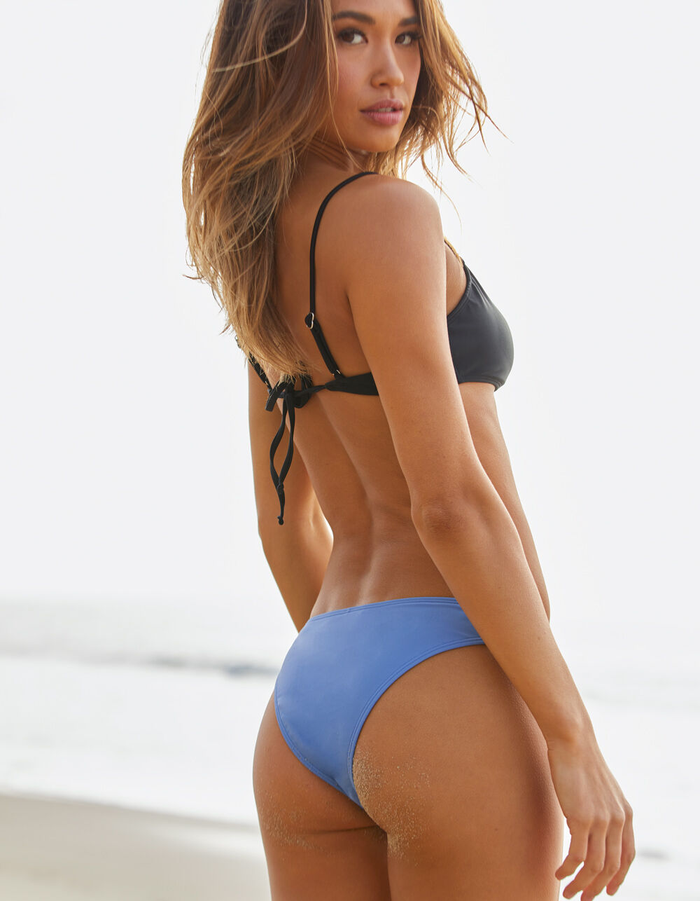 FULL TILT Skimpy Sky Blue Bikini Bottoms