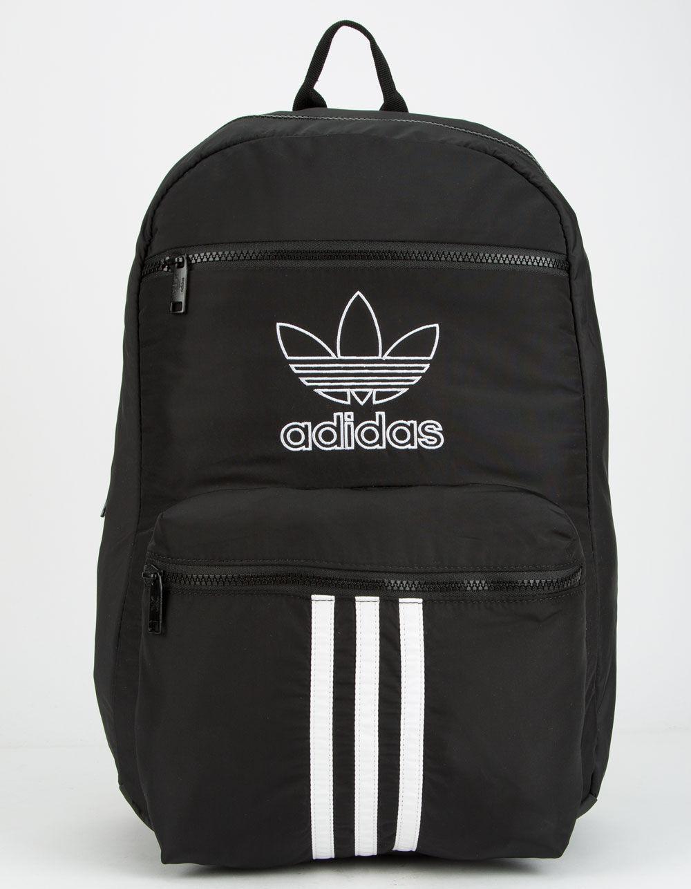 ADIDAS National 3-Stripes Black Backpack