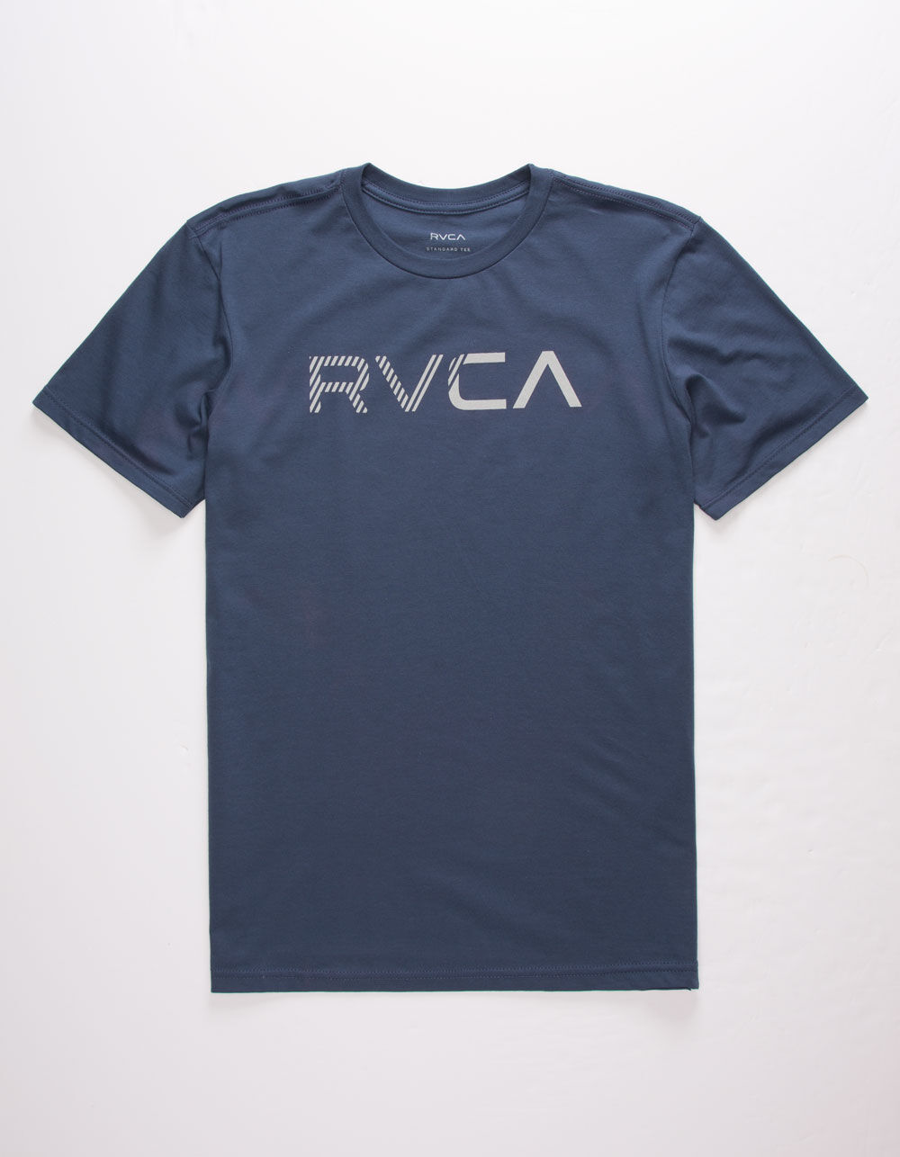 RVCA Blinded Heather Navy T-Shirt