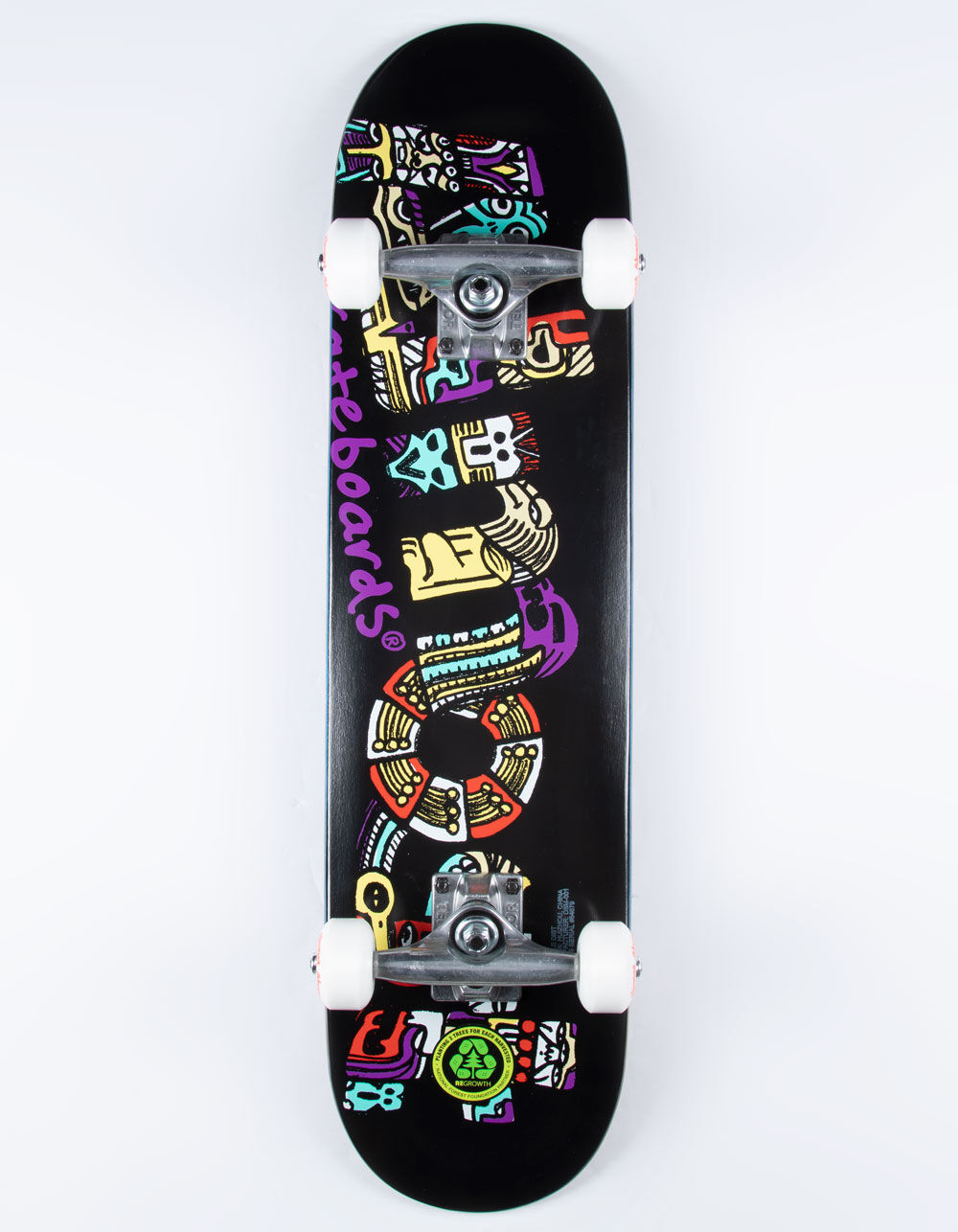 "Image of ALMOST Aztecian 7.25"" Complete Skateboard"