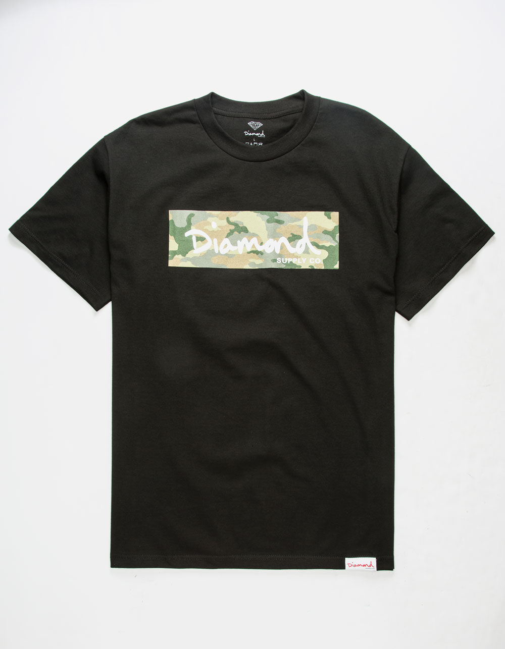DIAMOND SUPPLY CO. Camo Box Logo T-Shirt