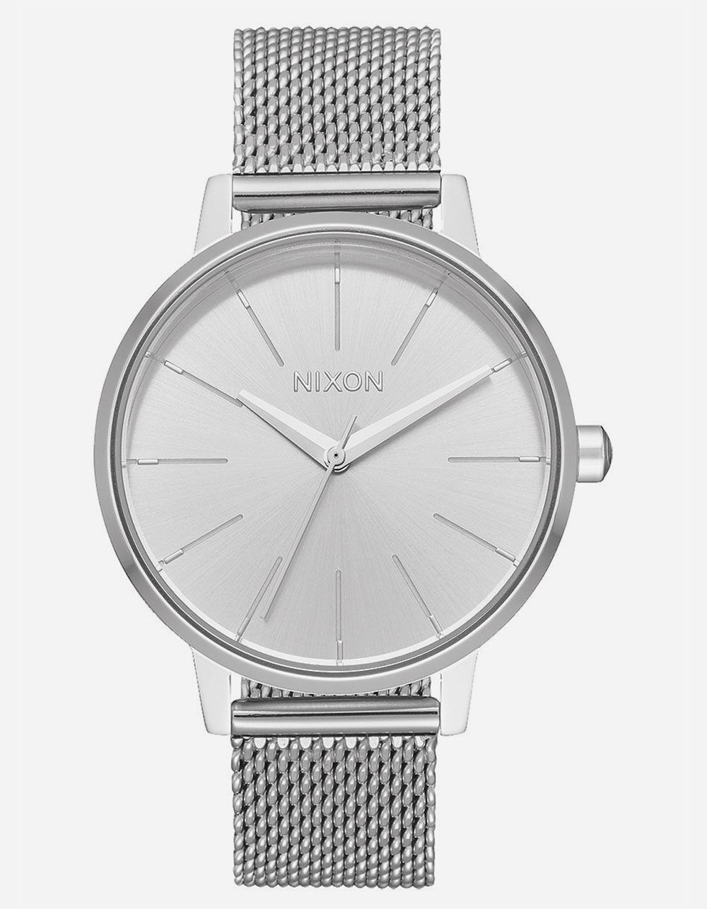 NIXON Kensington Milanese Silver Watch