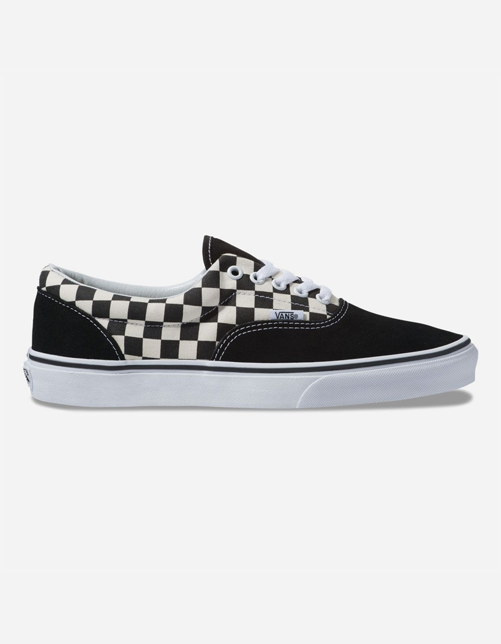 VANS Primary Check Era Black & White Shoes