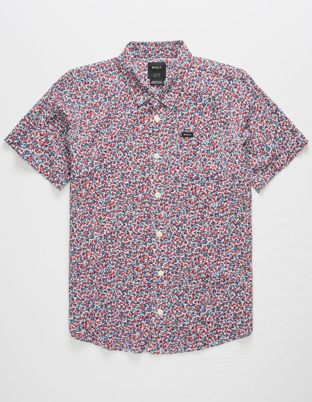 RVCA Revivalist Floral Boys Shirt