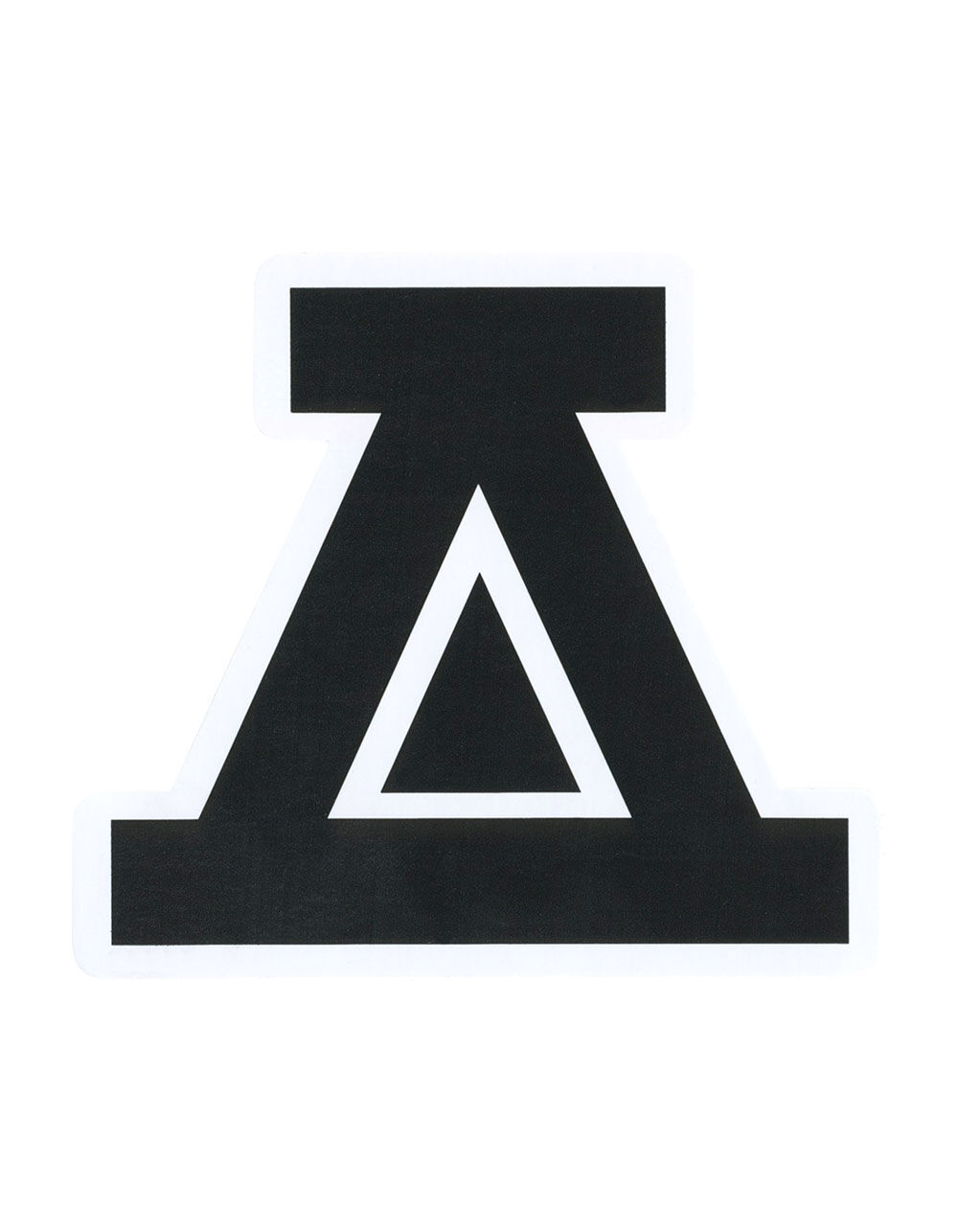 Image of ASPHALT ICON STICKER
