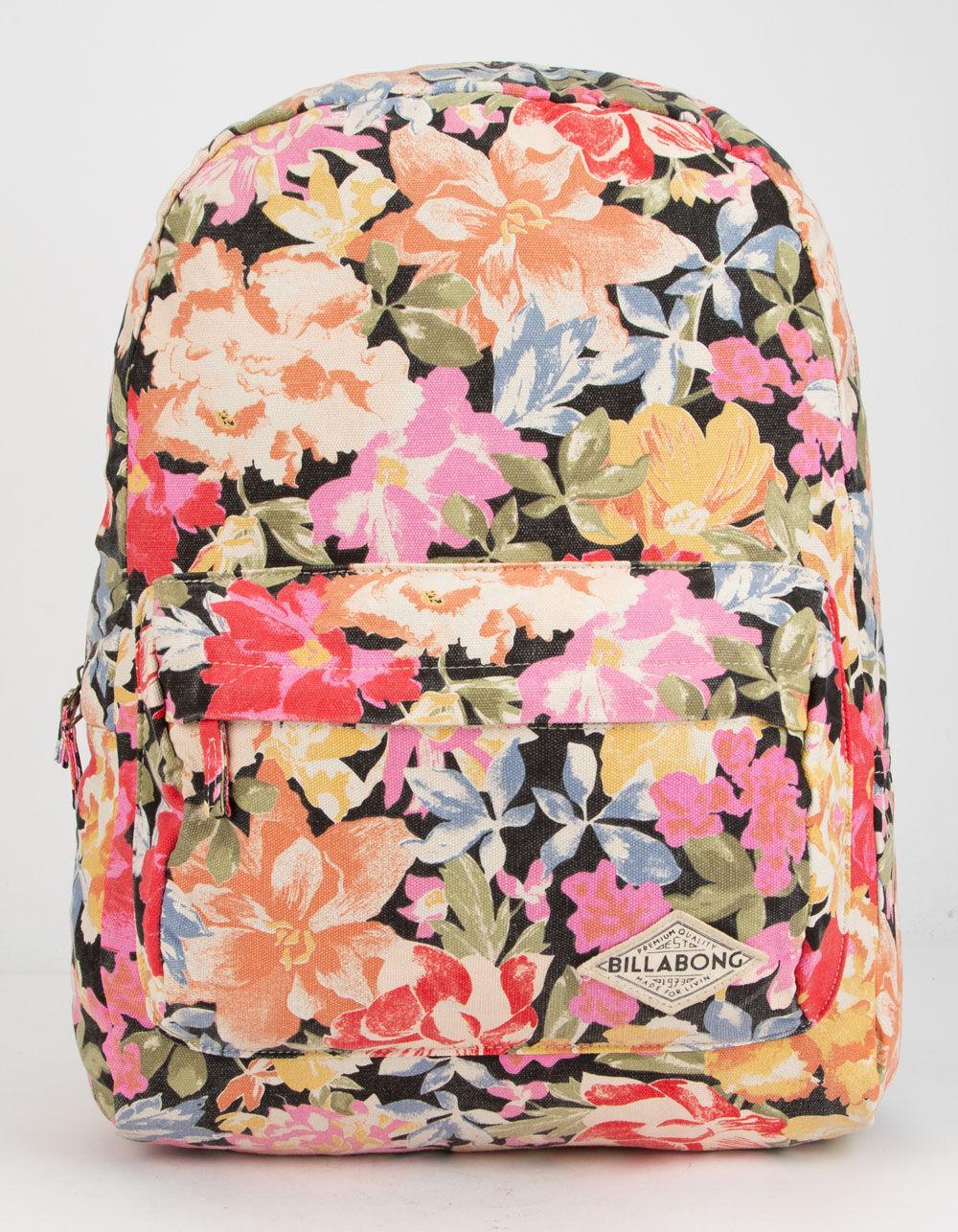 BILLABONG Hand Over Love Black Olive Backpack