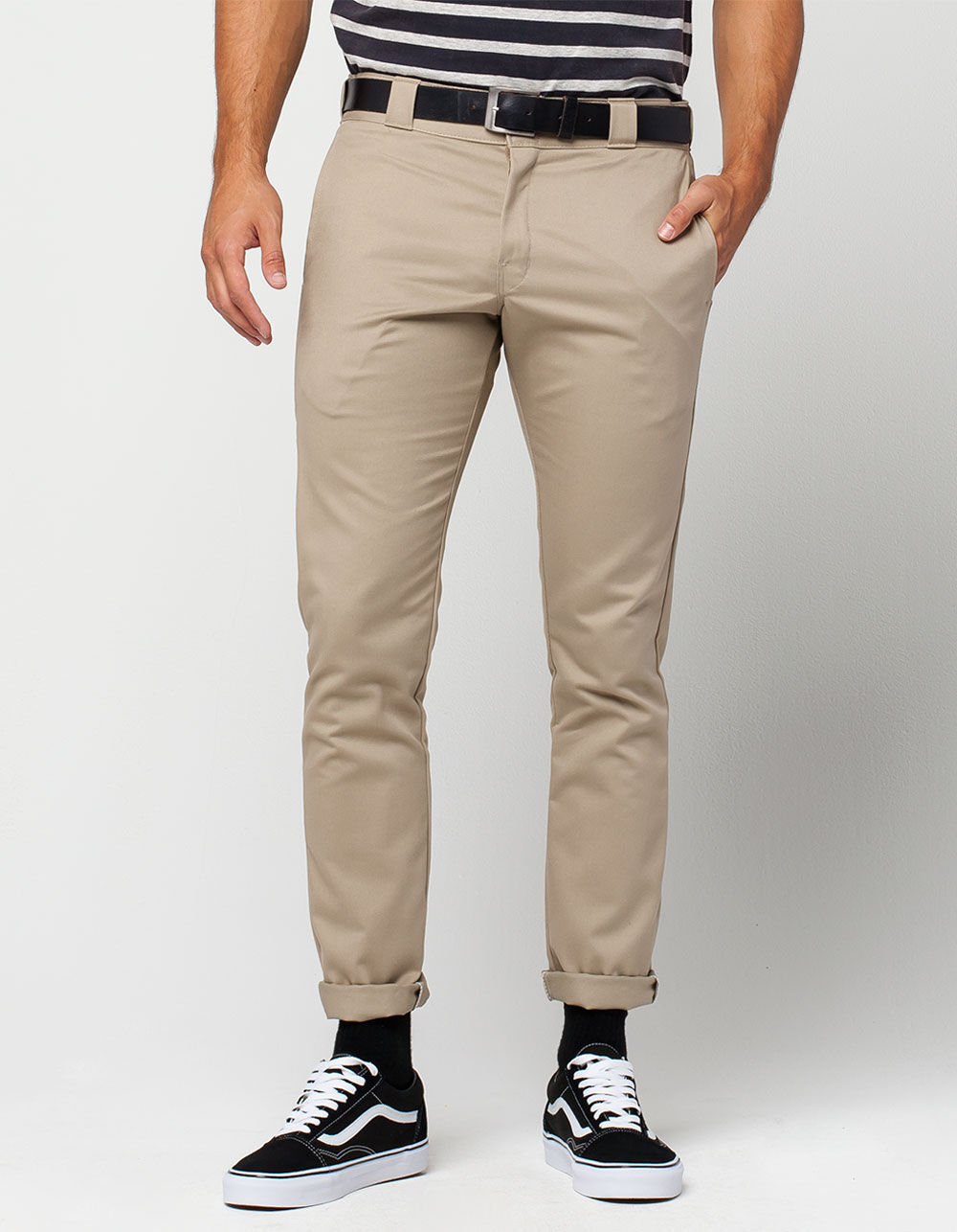 DICKIES 801 Mens Skinny Straight Pants