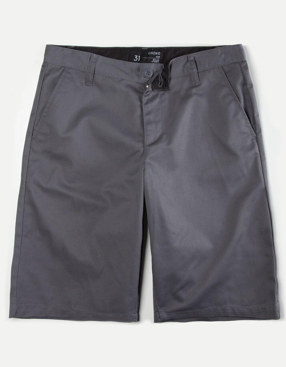 BLUE CROWN Classic Mens Chino Shorts