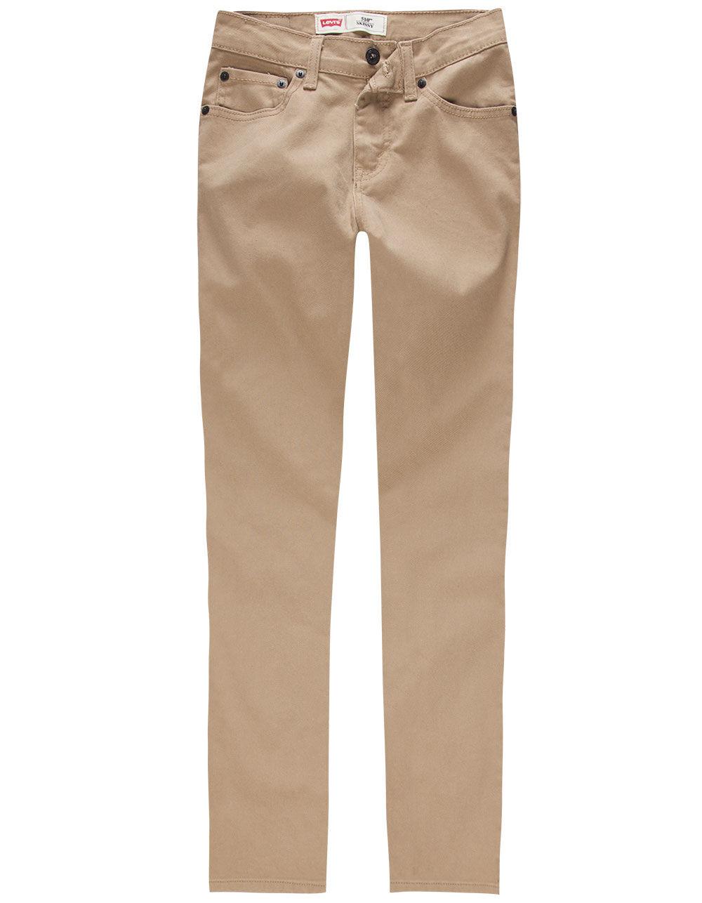 LEVI'S 510 British Khaki Boys Skinny Jeans