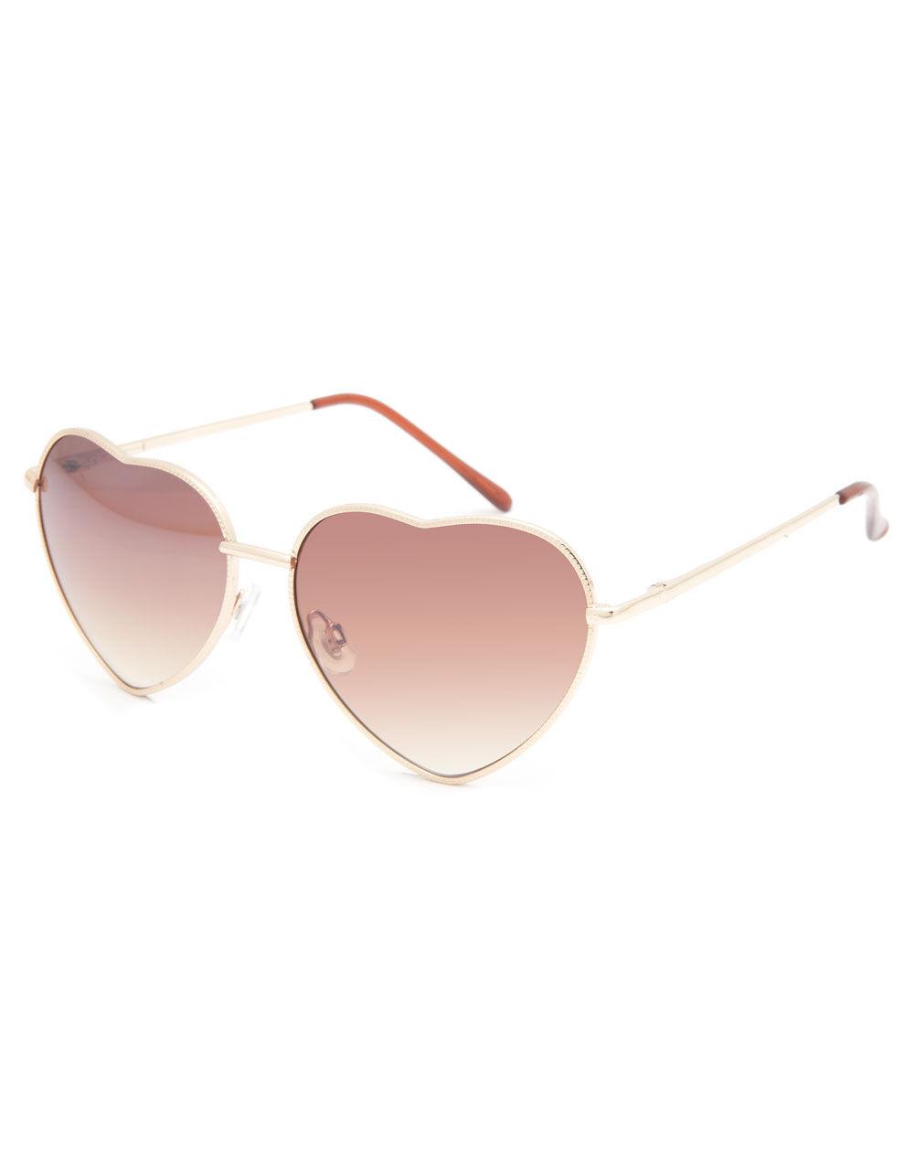 FULL TILT Luv Heart Sunglasses