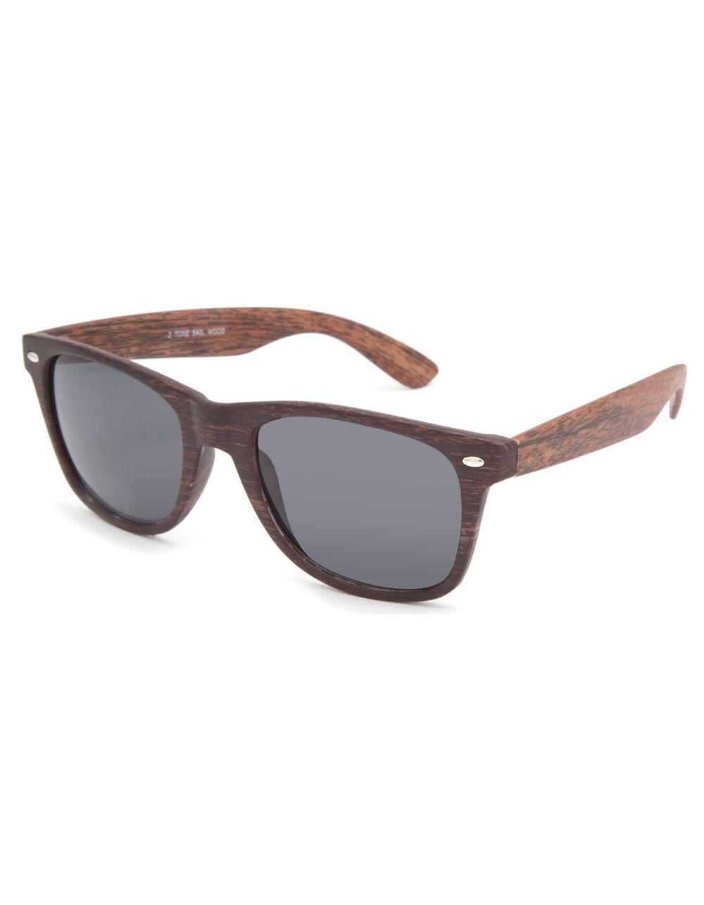 BLUE CROWN Bali Wood Sunglasses