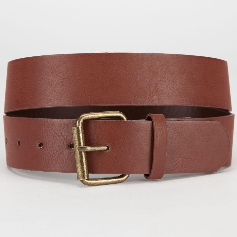 basic faux leather belt 246288409 belts