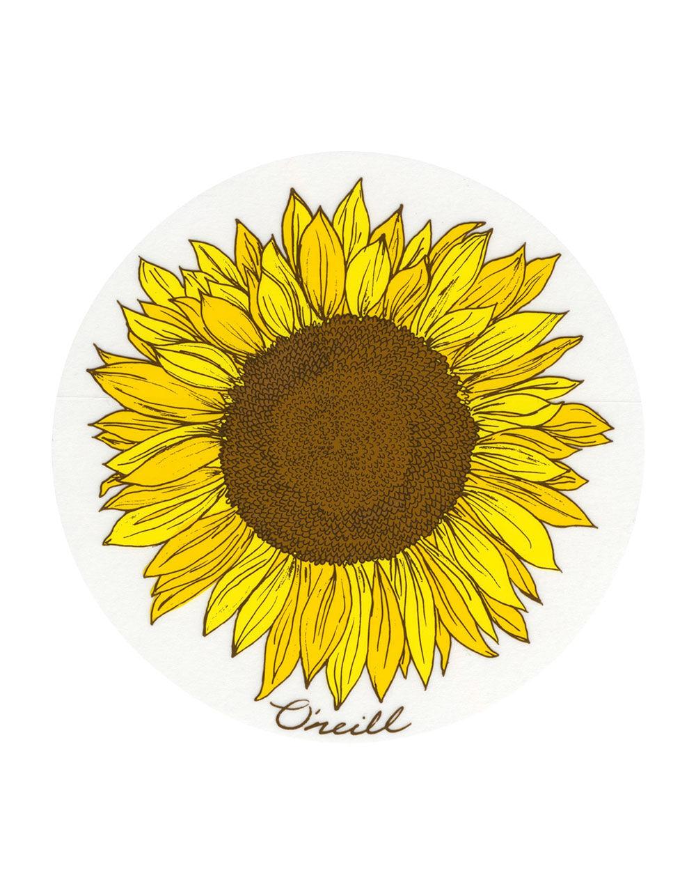 O Neill Sunflower Sticker 268560900 Stickers
